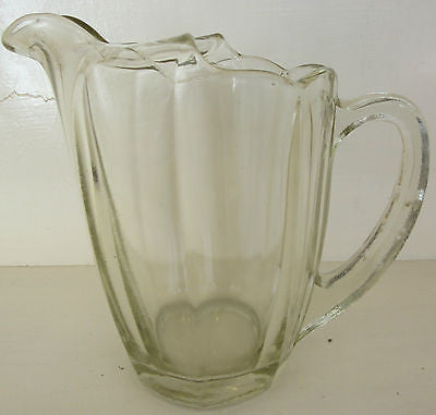 Antique Art Deco (1925 - 1940) Glass Jug