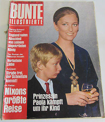 BUNTE ILLUSTRIERTE No. 26 Offenburg, 15.6.72 (1972) Printed in Germany Magazine