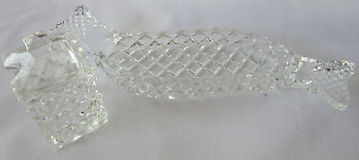 Crystal Cut Glass Set of 2