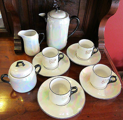 English Tea Set - Coffee Set – 13 Pieces
