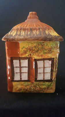 "Retro Price Kensington ""Ye Old Cottage"" square canister, made in England"