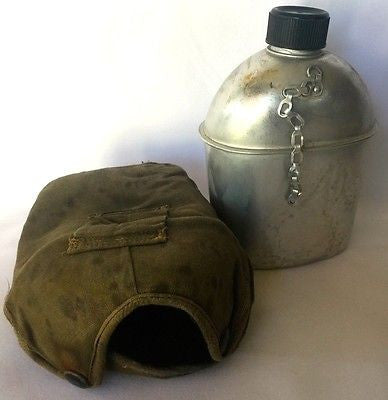 War Water Bottle Vintage