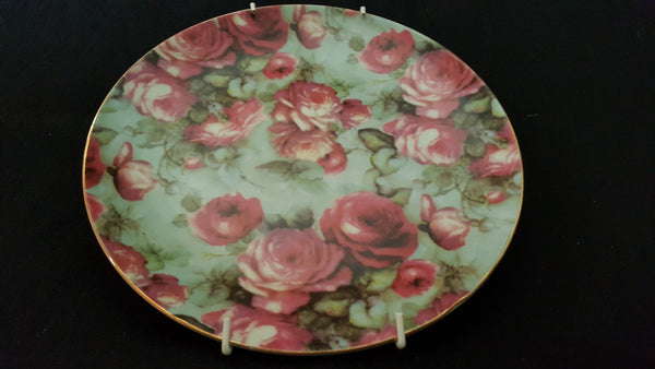 From the Bonnae Porcelain Collection, Floral Porcelain Dinner Plate