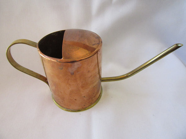 Brass/Copper Watering Can – Small Metal Watering Can – Vintage Metalware