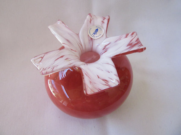 Antique Blown Glass Art Ornament - MTARFA Glassblowers - Made in Malta