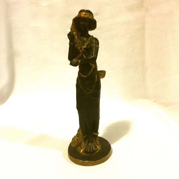 Vintage Lady Sculpture