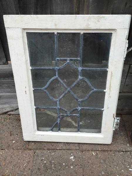 Antique Old English Glass Window #17