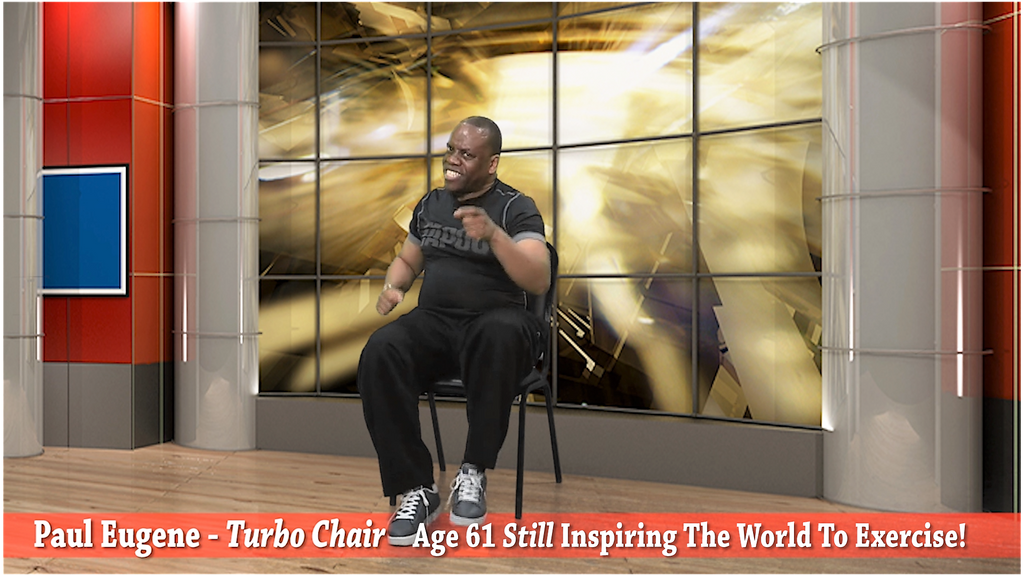 DVD - Turbo Chair Seated Exercise Workout
