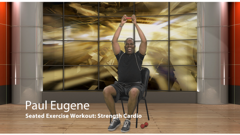 DVD Seated Exercise Workout - Strength Cardio