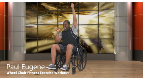 Wheel Chair Fitness Exercise Workout
