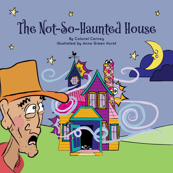 the not so haunted house book cover children's picture book