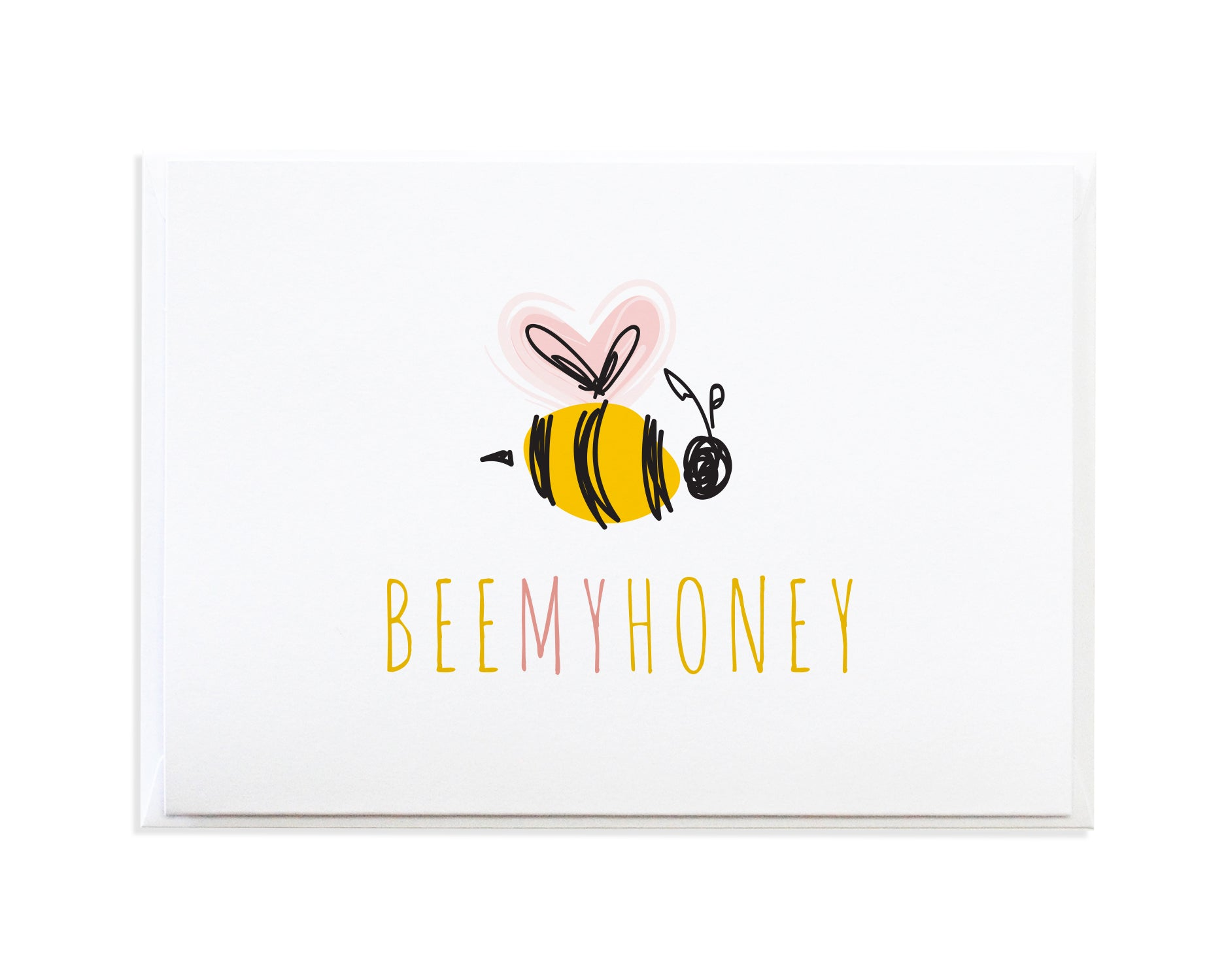 BEE MY HONEY CARD