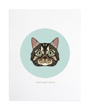 Cat  Custom Pet Portrait by Anne Green Design