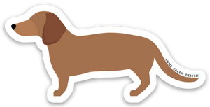 DACHSHUND STICKER