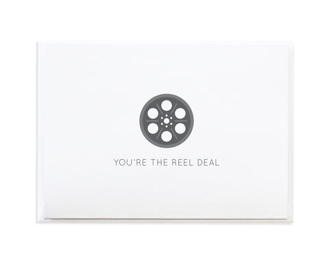 REEL DEAL VALENTINE CARD
