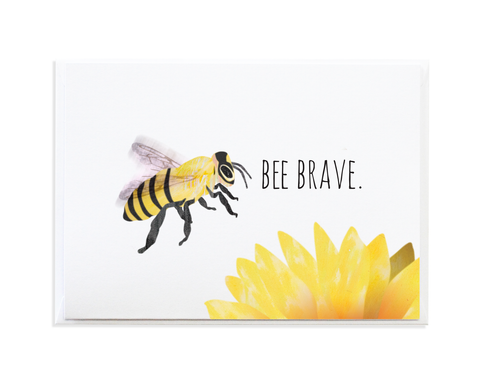 BEE BRAVE CARD