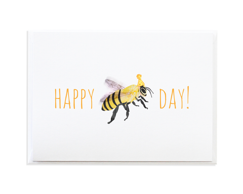 BEE DAY CARD