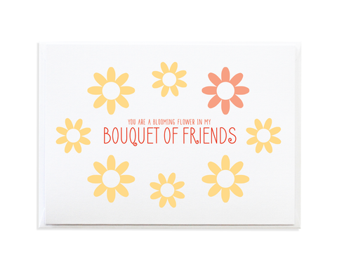 BOUQUET OF FRIENDS CARD