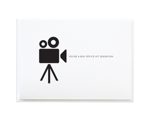 Box Office Greeting Card