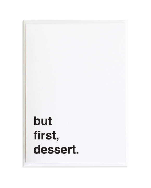 Dessert Just Because Greeting Card by Anne Green Design