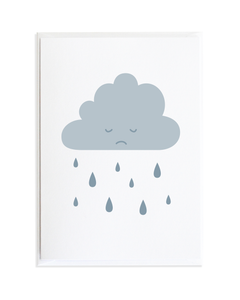 RAINY DAY SYMPATHY CARD