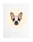French Bulldog Custom Pet Portrait by Anne Green Design