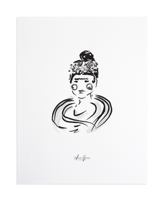 Bold Female - Frida Kahlo Print