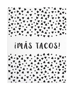 "Tacos 8""x10"" Print by Anne Green Design"