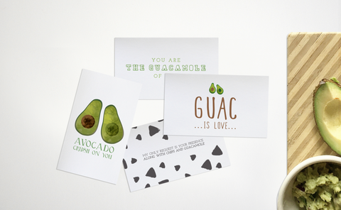 MINI AVOCADO VALENTINES