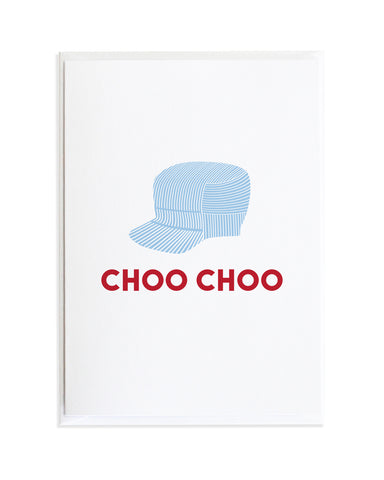 CONDUCTOR'S HAT CARD