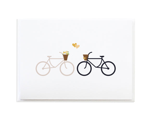 Bike Wedding Card
