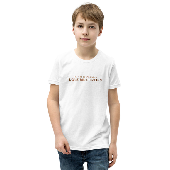 Love Multiplies Kids T-Shirt
