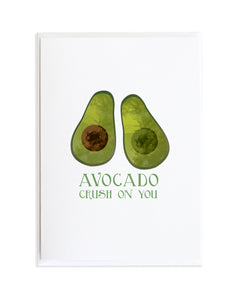 Avocado - Victory Garden Greeting Card