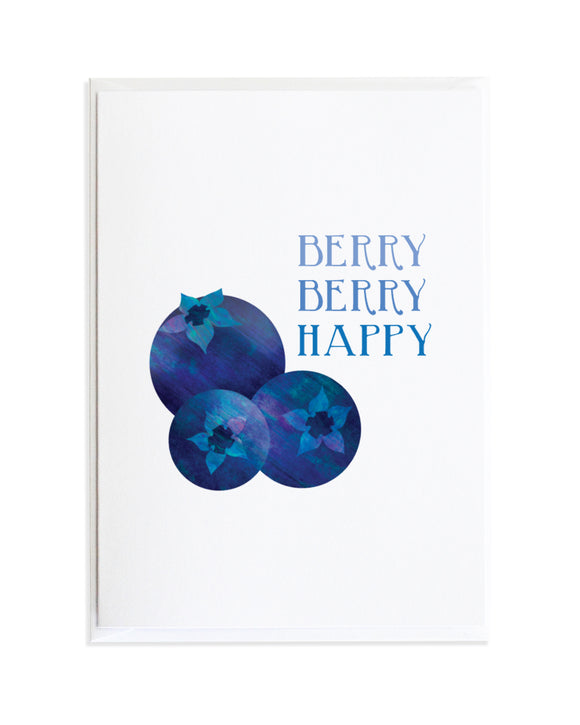 BLUEBERRY - VICTORY GARDEN CARD