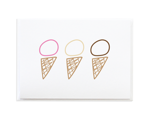 ICE CREAM CARD