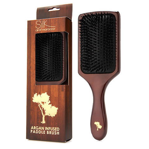 Argan Infused Paddle Brush