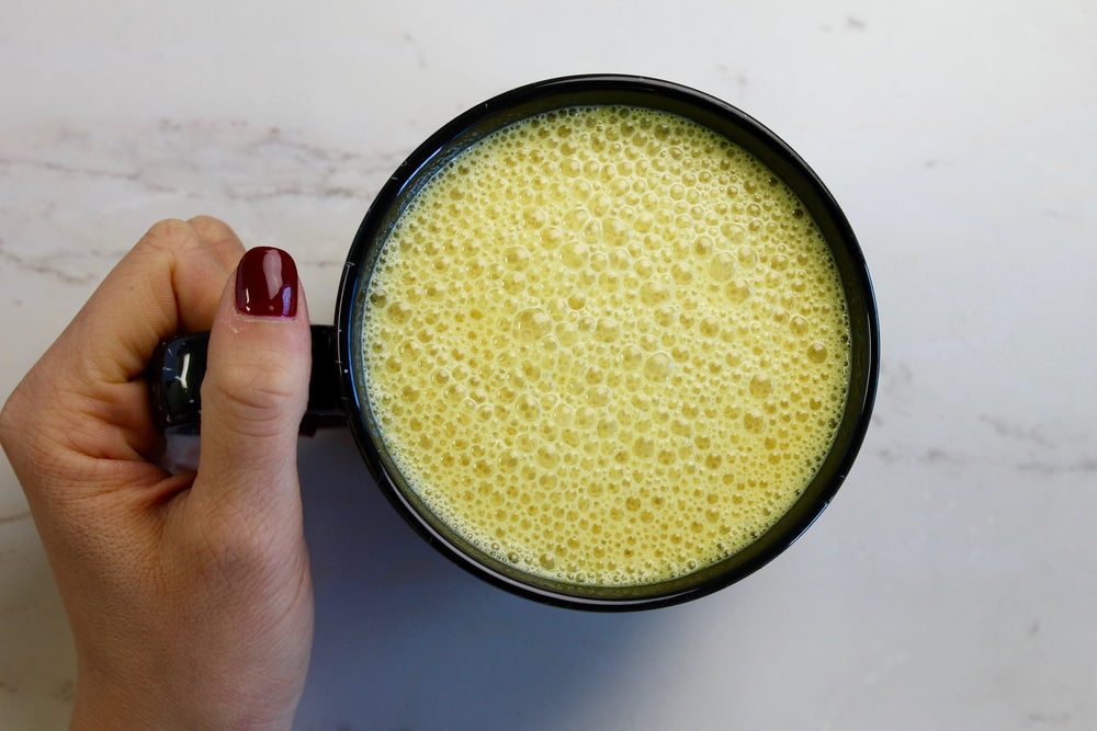 Superfood Turmeric Latte made in Vitamix!