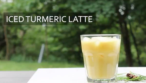 Shake up your Summer... With an Iced Turmeric Latte!