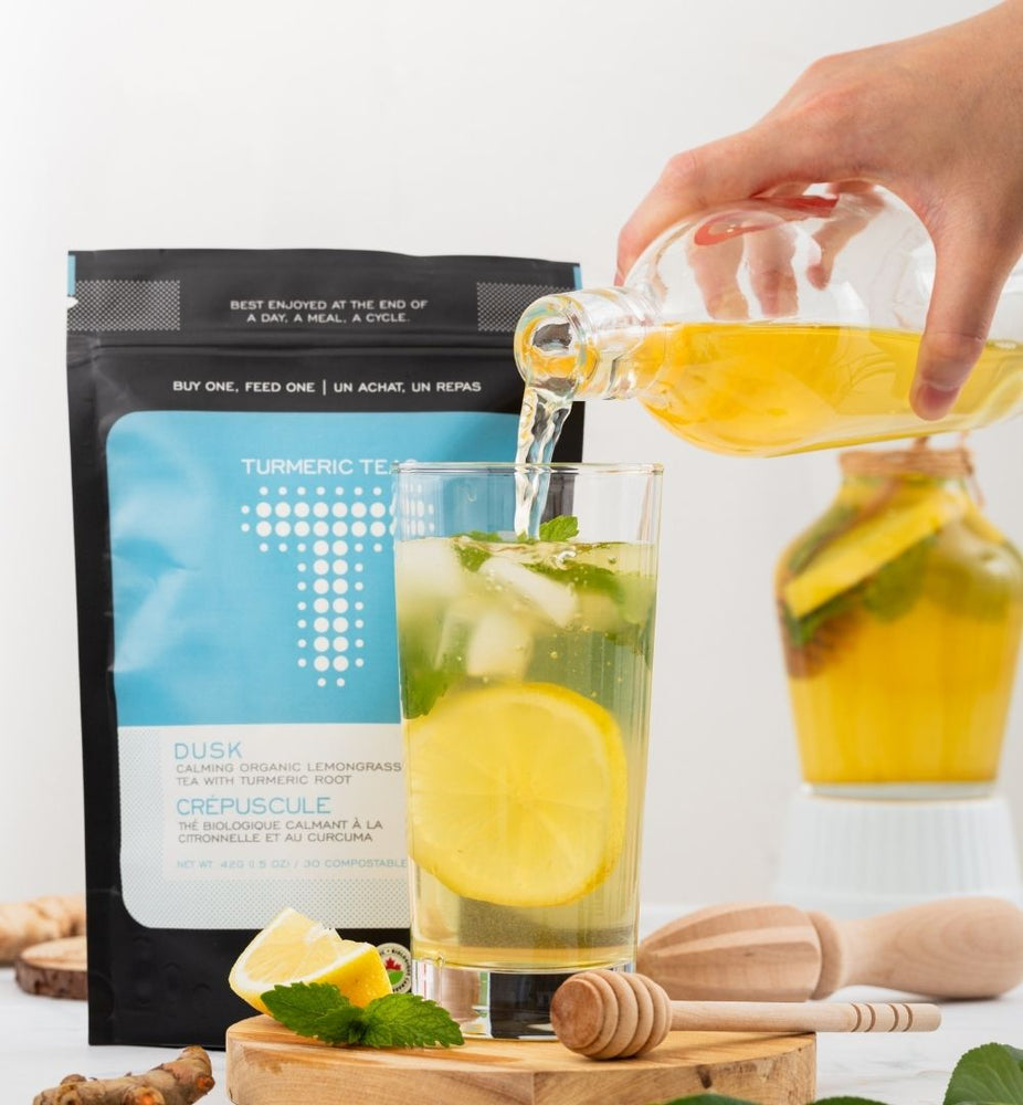Turmeric Lemongrass Iced Tea