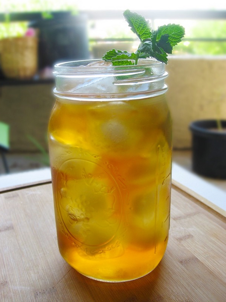 Sparkling Mint Tea with Turmeric - Turmeric Teas