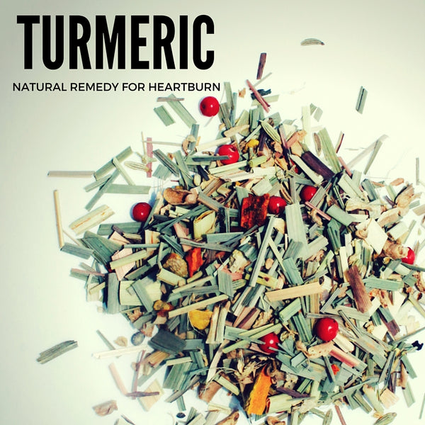 TURMERIC -NATURAL HEARTBURN REMEDY