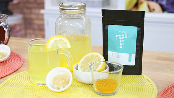 Turmeric Lemon Tea Recipe by Julie Daniluk | Tea-tox - Marilyn Denis Show