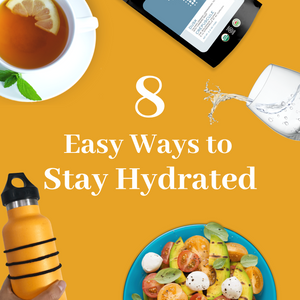 8 Easy Ways to Stay Hydrated Infographic