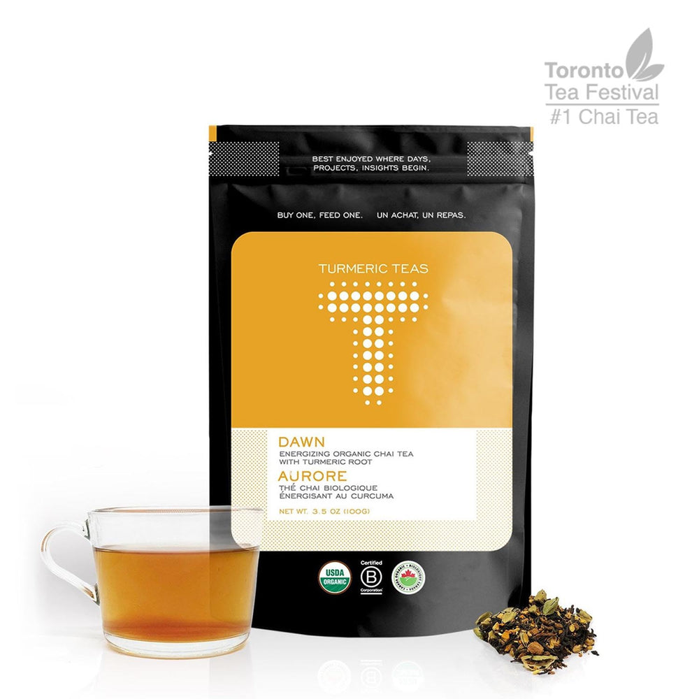 Load image into Gallery viewer, DAWN | Energizing Organic Turmeric Chai