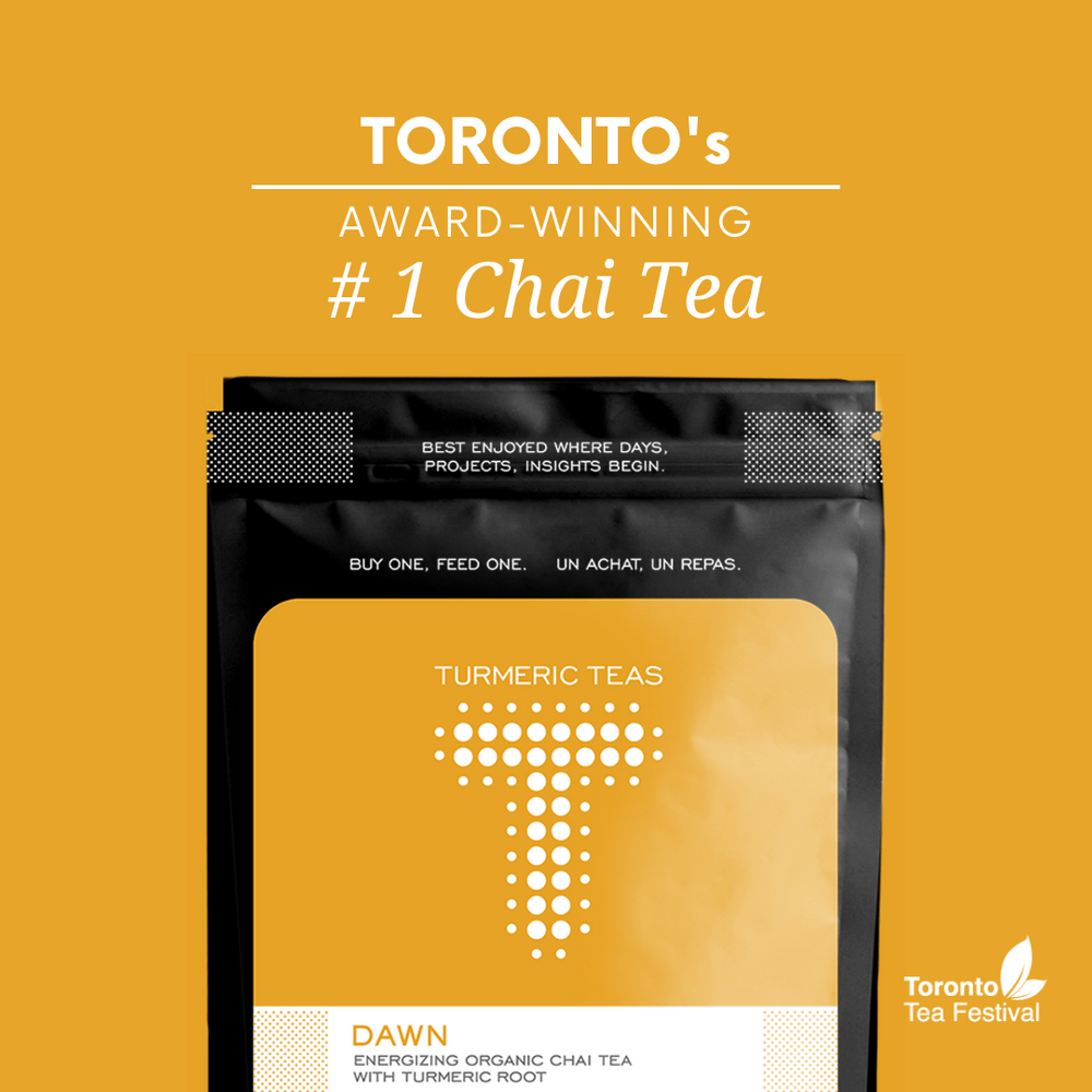 Load image into Gallery viewer, Turmeric Teas - Dawn Loose Leaf Chai Tea.