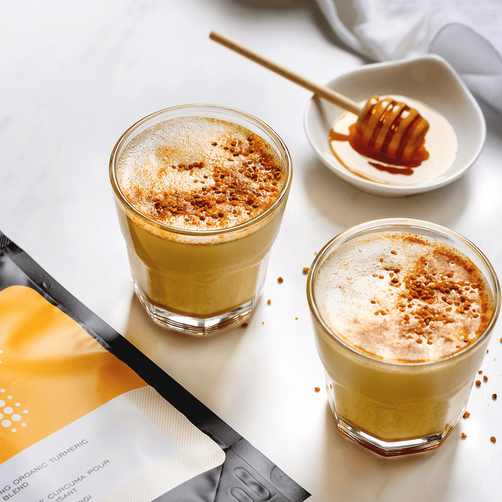 Load image into Gallery viewer, Turmeric Teas - Joy Turmeric Latte