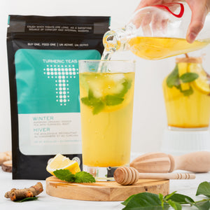 Load image into Gallery viewer, Turmeric Teas - Winter Tea Bag. Restorative ginger tea.