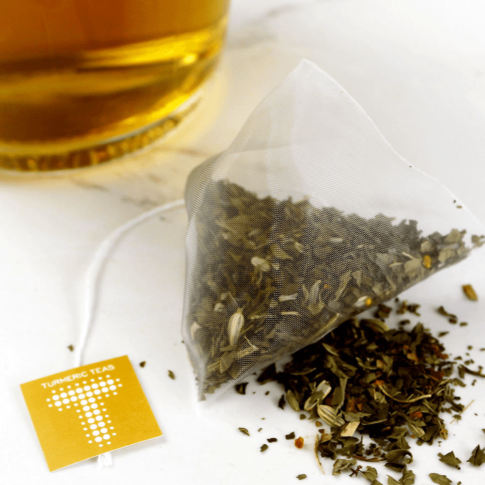 Load image into Gallery viewer, Turmeric Teas - Summer Peppermint Tea Bag