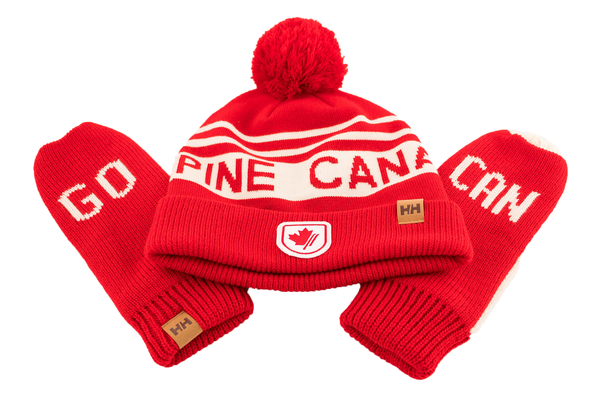 Hat & Mitten Gift Set · Ensemble Tuque et Mitaines