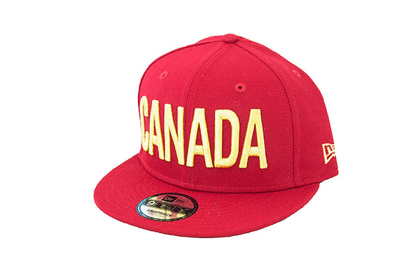 9FIFTY Snapback - CANADA GOLD HAT